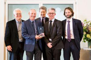 Professor Simon Loertscher, Associate Professor David Byrne, Professor Steven Williams and Mr Gary Stoneham