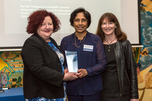 Award for Excellence and Innovation in Indigenous Higher Education: Melbourne Dental School's Indigenous Oral Health Placement (Project lead, Associate Professor Menaka Abuzar) Faculty of MDHS