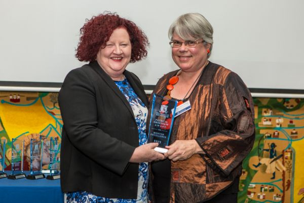 Patricia Grimshaw Awards for Mentor Excellence: Associate Professor Lesley Stirling- School of Languages and Linguistics, Faculty of Arts