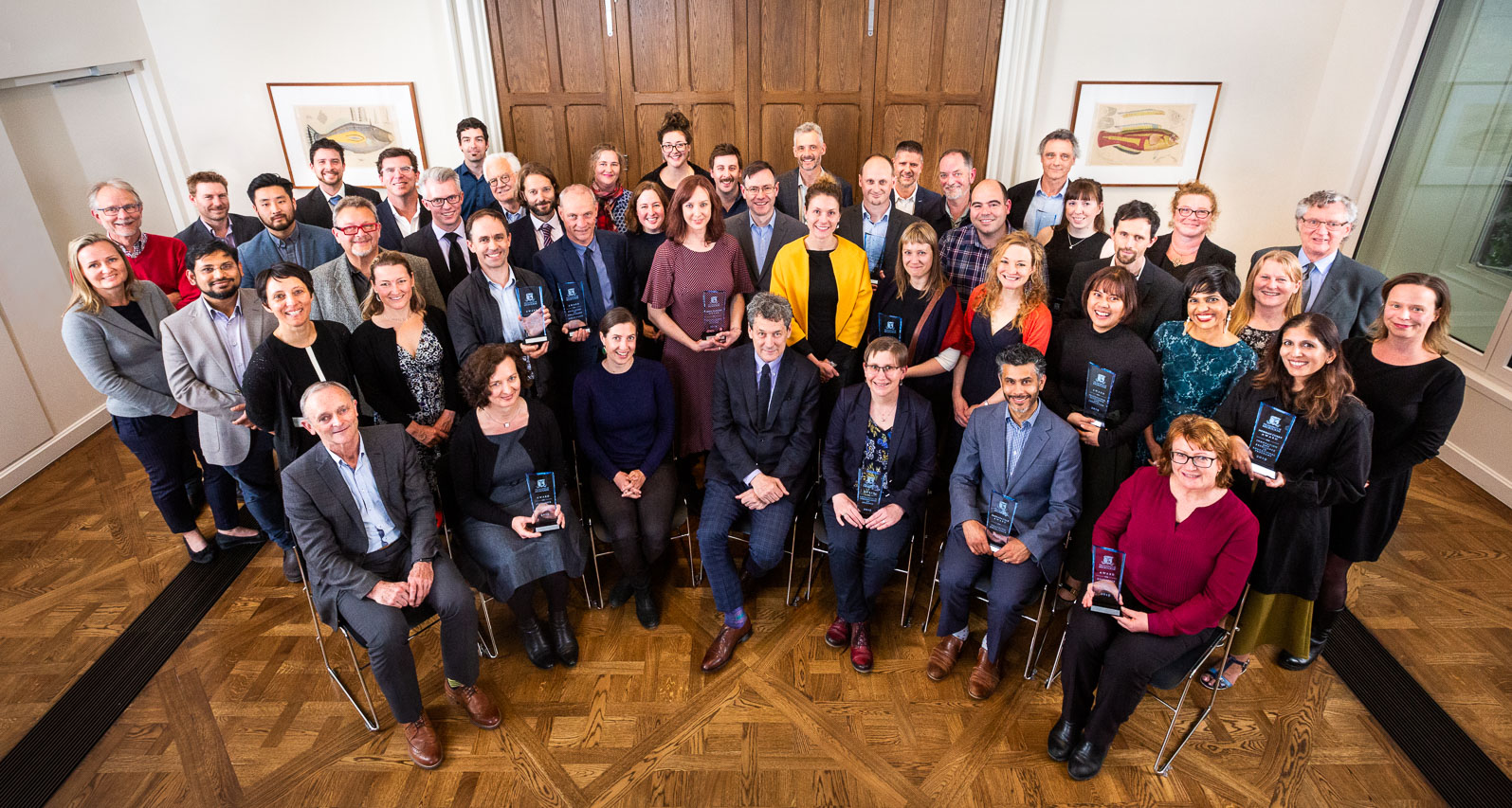 2019 Excellence Awards Presentation group photo
