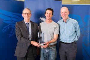 Prof. Tim Fletcher and A/Prof. Chris Walsh receiving their award