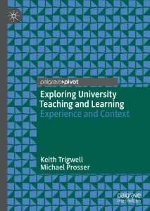 Image for Exploring University Teaching and Learning: Experience and Context